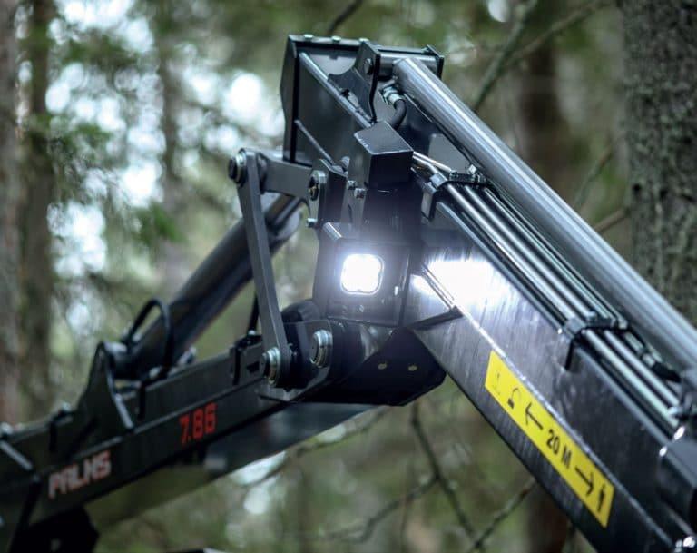 Forstkran K7.86 Detail Lampe