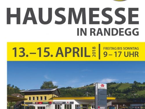 Hausmesse in Randess Flyer