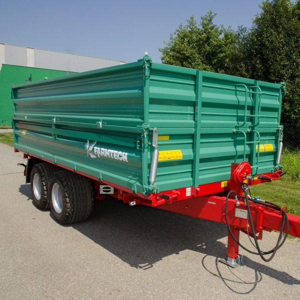 Bei SOMA: Tandem-Dreiseitenkipper TDK 1500