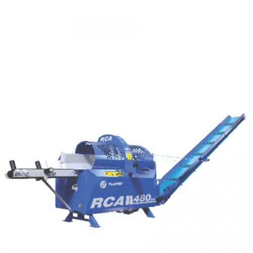 Vorderansicht Schneidspalter RCA 480