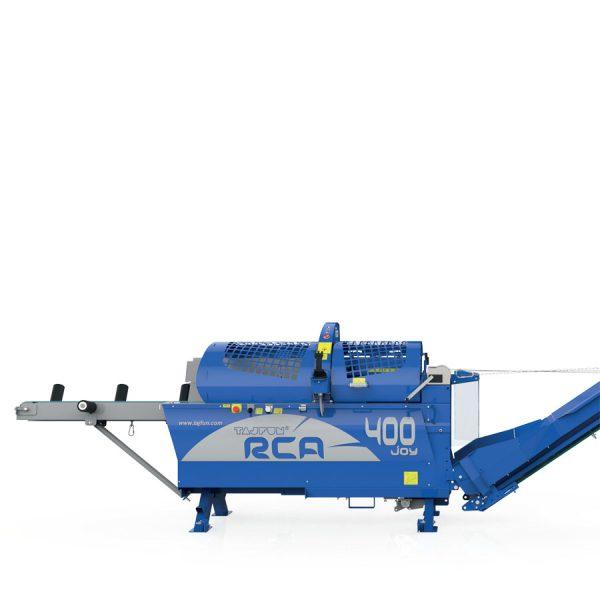 Vorderansicht TAJFUN Schneidspalter RCA 400