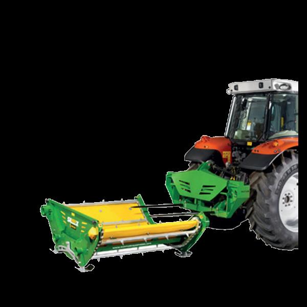 Ballenauflöser SL 360X am Traktor