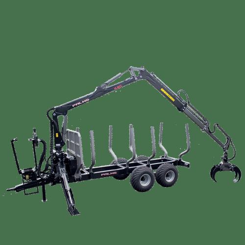 Forstanhänger H10D - beste Forstmaschinen bei SOMA