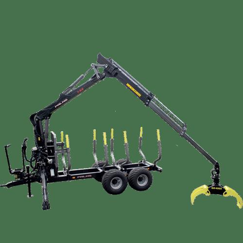 Forstanhänger H13D - beste Forsttechnik bei SOMA
