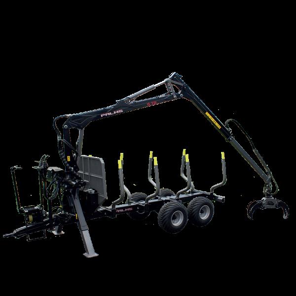 Forstanhänger H9S - beste Forstmaschinen bei SOMA
