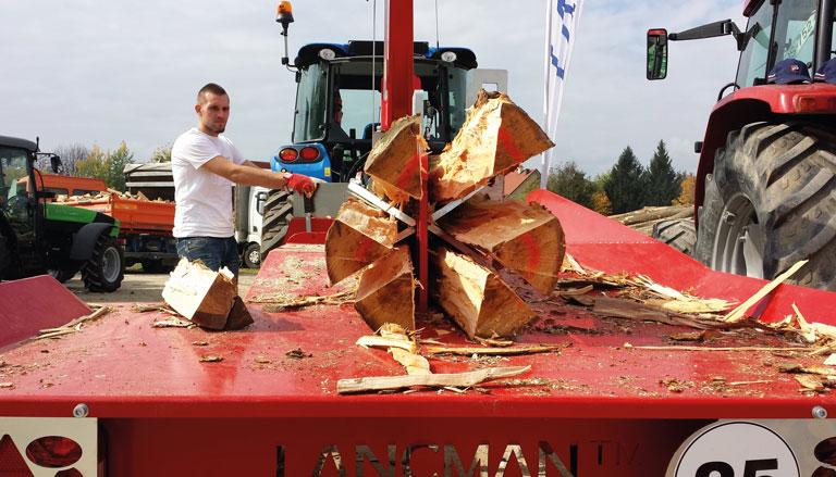 Verscheidene Modelle: Bei SOMA Holzspalter kaufen