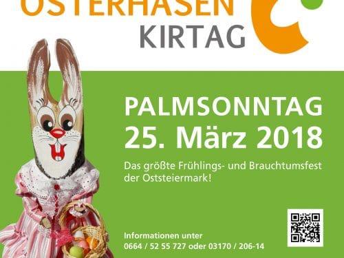 Osterhasenkirtag Plakat