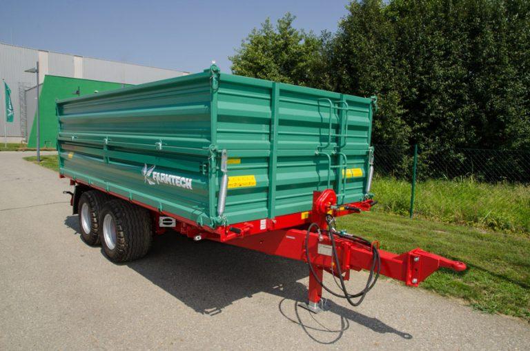 Tandem-Dreiseitenkipper TDK 1500 von Farmtech